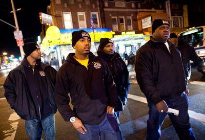 Afro American Street patrol