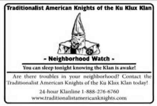 KKK flyer