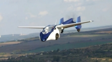 aeromobile flying car prototype