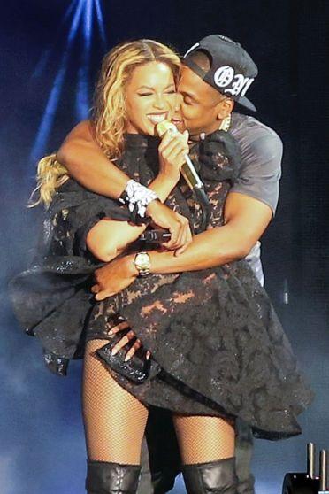 Bey Jay Behind Hug