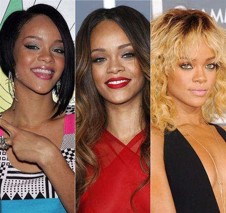 bleached Rihanna
