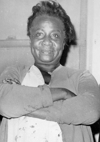 Motel Manager, Bertha Franklin, after shooting Sam.