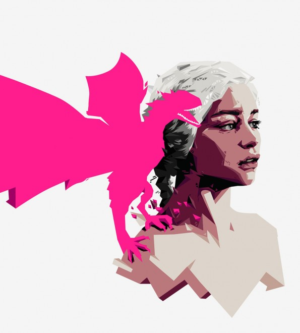 Mother of Dragons art