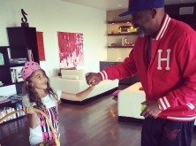Dame Dash daughter dancing