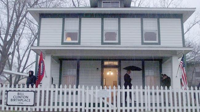 bill clinton birth home